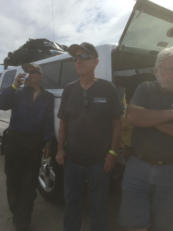 L to R: Scot, Tom Burt in San Felipe after end of day 2